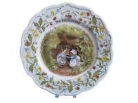"Brambly Hedge - The Engagement 8"" Plate - Royal Doulton - Excellent - Gift Boxed"