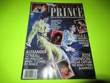 RIGHT ON MAGAZINE THE BEST OF PRINCE ISSUE FALL 1985