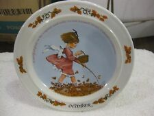 Sarah Stilwell Weber Calendar Collection October Collectible Plate 1985 LE #178