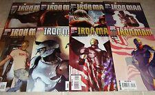 2007 Iron Man 21 22 23 24 25 26 27 28 1st Prints Marvel