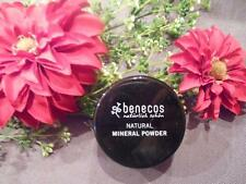(45 50/100g) benecos Natural Mineral Powder Light Sand vegan 10 G