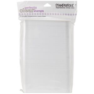 """4"""" x 6"""" Stampendous Perfectly Clear Acrylic Stamp Block"""