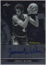 2012-13 LEAF METAL AUTO: JAMAAL WILKES - AUTOGRAPH NCAA UCLA/NBA LAKERS CHAMPION