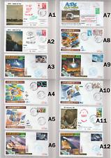 Lot de 45 Enveloppes Ariane V Cover Space FDC CNES  ESA KOUROU TRACKING