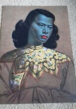 Tretchikoff chinese girl green lady beautiful A3 borderless  print retro kitsch