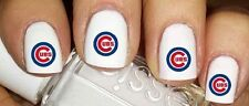 MLB Chicago Cubs Nail Decoration Temporary Fingernail Tattoos  02 SETS of 10 ea.