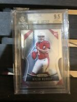 BGS 9.5 KYLER MURRAY 2019 PANINI PRIZM #301 CARDINALS ROOKIE RC GEM MINT With 10