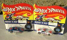 Hot Wheels Tom McEwen & Don Prudhomme Vintage Collection Mongoose vs Snake Set