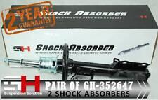 2 FRONT GAS SHOCK ABSORBERS HONDAJAZZ (GD) // HONDA FIT 2002-2005 // 352647 H V