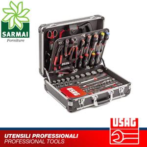 USAG 002 JMA set utensili valigia porta attrezzi assortimento manutenzione 181pz
