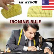 Hot Ironing Ruler Patchwork Tailor Craft DIY Sewing Supplies Measuring Tool US