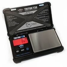 My Weigh Triton T3R Rechargeable Pocket Scale 500g x 0.01g Precision Black