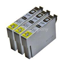 3 kompatible Tintenpatronen black für Drucker Epson SX435W Office BX305FW