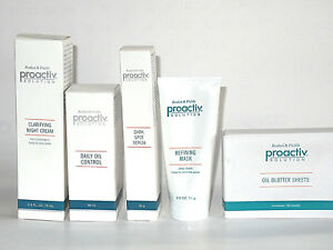 Proactiv Solution Skin Care Set of 5 with 130 Blotting Sheets