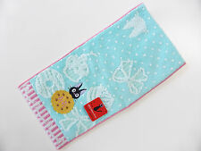 BRAND NEW! Kiki's Delivery Service Jiji Kawaii Pocket Hand Towel Ghibli Japan