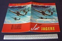Jet Jagere (Jet Fighter) #1 Cut-Out Card Model Book. Published in Holland c1960