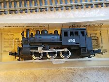 Model  Power N Scale 0-6-0 Steam Engine runs good model railroad train hobby