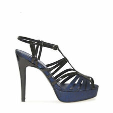 Stiletto Leather Special Occasion Textured Heels for Women