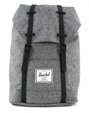 Herschel Retreat Backpack Schulrucksack Tasche Raven Crosshatch / Black Rubber