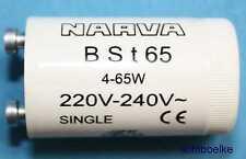 2 x  Single Starter für Leuchtstofflampen Leuchtstoffröhren  4-65W *N*