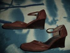 GEORGE WEDGE SHOES WOMEN'S SIZE 7 1/2   (2.5 INCH HEEL)  MARISSA