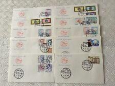 Italie Lot 57 enveloppes 1er jour Année 2002