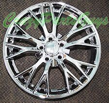 "19"" Z06 STYLE CHROME WHEELS RIMS FITS 05-13 CHEVY CORVETTE C6 BASE"