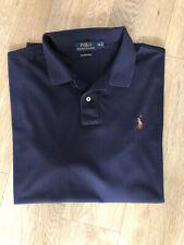 Ralph Lauren Polo pima cotton navy blue polo shirt 2XL XXL