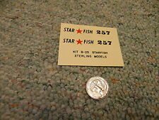 Sterling Models decals B-25 Starfish    D117