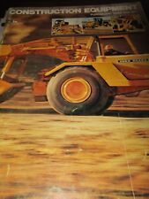 "John Deere ""Construction Equipment Purchasing Guide for 1977"" Sales Brochure"