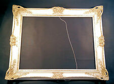 BELLE Splendeur Cadre Photo ca.100x80cm Baroque armature de miroir vintage R5