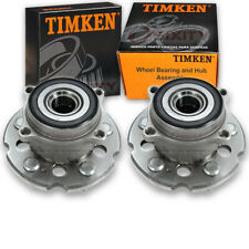 Timken Rear Wheel Bearing & Hub Assembly for 2009-2015 Honda Pilot Pair Left us