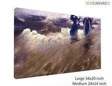 More details for russian art ilya repin realism landscape 1 canvas wall