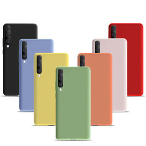 For A12 (5G) A21s Case Liquid Silicone Shockproof Rubber Gel Phone Cover