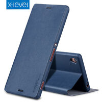 X-Level For Sony Xperia XA1 /Ultra/XZs Slim Full Cover Flip Leather Wallet Case