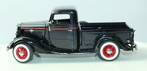 DANBURY MINT 1935 FORD PICK UP TRUCK 1/24 SCALE DIECAST With COA