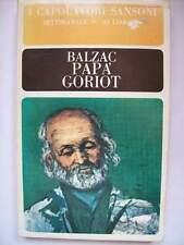 BALZAC PAPA' GORIOT I CAPOLAVORI SANSONI N° 25   ( s12)