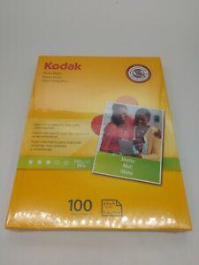 Kodak photo paper 8.5 x 11 matte, 100 count 39 lb - 145 g/m (41164-8318164)