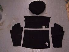 MGB 62-80 TRUNK BLACK LOOP CARPET KIT  CRAZY SPECIAL PRICE