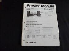 Original Service Manual Technics SL-CA1060