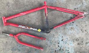 1987 Redline 400c Frame Forks Old School Vintage BMX Freestyle Bike