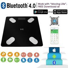 Digital Bluetooth Weighing Scales Smart Bathroom Body Fat Monitor BMI Backlit US