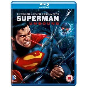 Superman Unbound Region Free Blu-ray