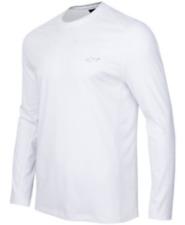 Norman For Tasso Elba Men's Long-Sleeve Performance Shirt,White, Xl