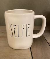 Rae Dunn By Magenta - LL SELFIE - LL WHITE Ceramic Coffee Mug