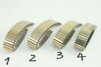 MAGEX FLEX Zugband Flexband Edelstahlband 17mm Goldfarben Top Qualität