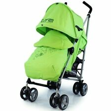 Zeta Voom Baby Lime Green Buggy Stroller Pushchair inc Raincover Foot Muff