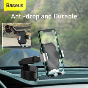 Baseus Gravity Car Phone Holder Windshield Strong Suction Mount for Smart Phone