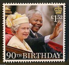"Gb stamps 2016 ""hm the queen avec nelson mandela, 1996"" - u/m"