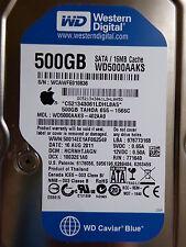 Western Digital WD 5000 caaks - 402aa0 | DCM: hcrnhtjagn | 16 Aug 2011 | 500 GB